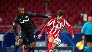 RB Salzburgo-At. Madrid, los Colchoneros están a un punto de la clasificación