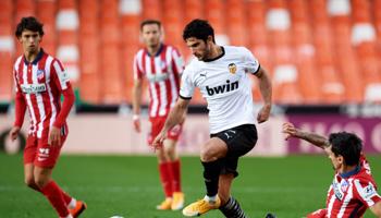 Atlético de Madrid – Valencia: el líder disputa un partido complejo
