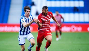 Granada – Real Sociedad, la Reala tiene la zona de Champions a su alcance