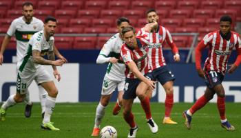 Elche – Atlético de Madrid, los Colchoneros confían en frenar su debacle