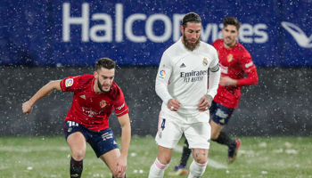 Real Madrid – Osasuna, se complica el asalto al liderato para los blancos