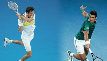 Djokovic y Medvedev, los grandes finalistas: ¿Quién ganará el Abierto de Australia 2021?