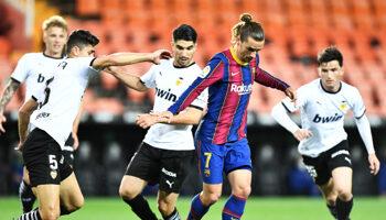Barça - Valencia: interesante encuentro entre dos equipos que quieren salir de sus horas bajas