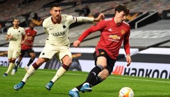 Roma - Manchester Utd, solo un milagro le arrebataría el pase a la final a los Diablos Rojos