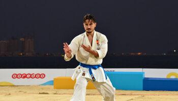 Karate - Kata Masculino, Damián ilusiona los corazones hispanos