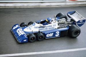 Coche de F1 Tyrell Ford 934 con 6 ruedas   Fórmula 1   Automovilismo