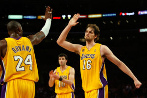 San Antonio Spurs v Los Angeles Lakers, Game 1