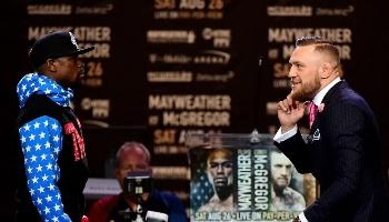 Mayweather tegen McGregor: de vergelijking