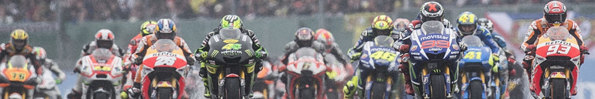 Moto GP startopstelling