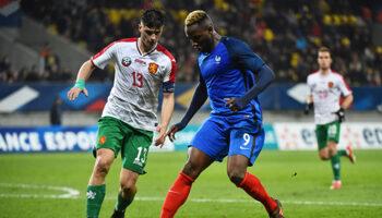 France Bulgarie football