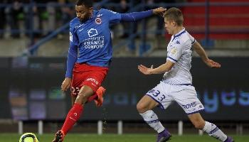 Troyes – Caen ; autre match en enjeu en bas de tableau.