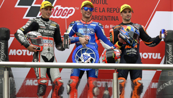 Moto GP Argentine : pariez sur la deuxième course de la saison !