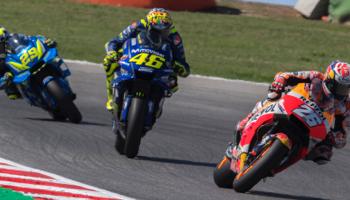 Moto GP d'Italie : Marquez et les rivaux Italiens