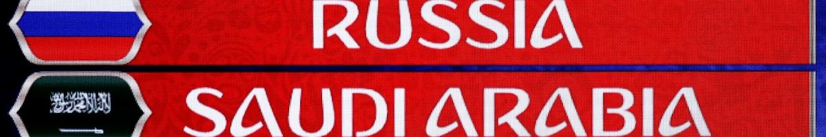 Russie – Arabie Saoudite : pariez sur le match d'ouverture de la coupe du monde !