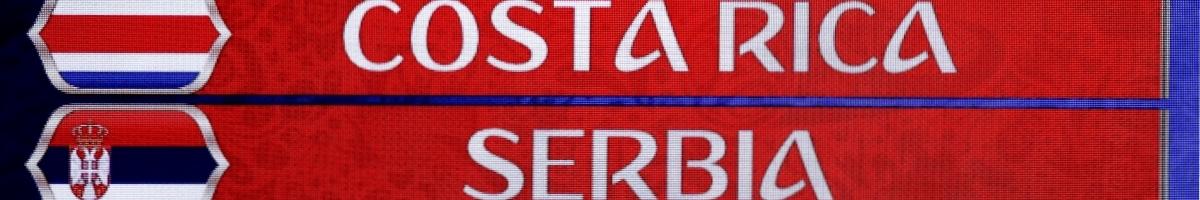 Costa Rica – Serbie : Pariez sur le favori européen !