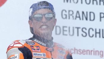 Moto GP d'Allemagne : propriété de Marc Marquez depuis 2010.