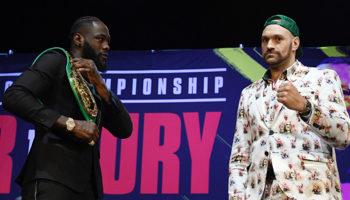Wilder - Fury : deux boxeurs invaincus !