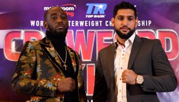 Crawford – Khan : Avantage au champion Américain