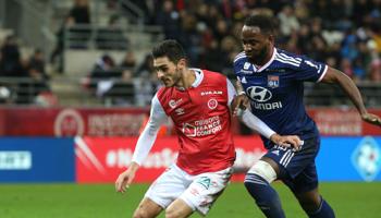 Lyon – Reims : 1-1 lors des deux derniers face-à-face