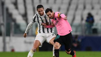 Barcelone – Juventus : les deux qualifiés avec des équipes bis