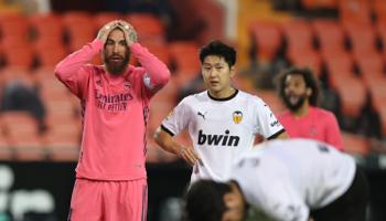 R. Madrid – Valence : les Merengues avaient perdu le match aller avec 3 buts d'écart