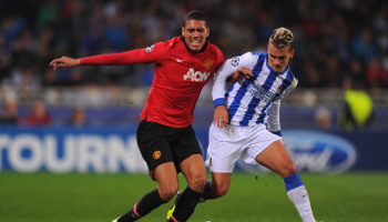 real sociedad manchester united coupe europe