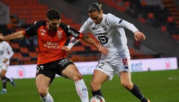 Lorient - Lille : deux équipes à cinq points