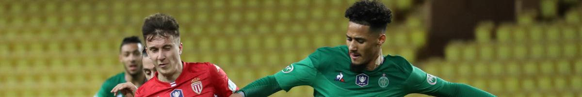 St-Etienne - Monaco : 5 matchs sans défaite pour les Verts