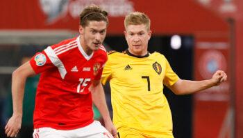 Belgique Russie euro football