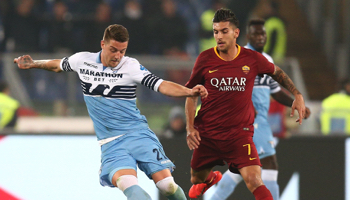 Lazio - AS Rome : derby romain