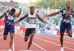 100m H : retour du sprint américain