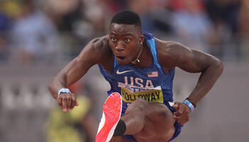 110m Haies H : Holloway vise l'or avant le record
