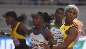 100m F : les Jamaïcaines trustent les premières places
