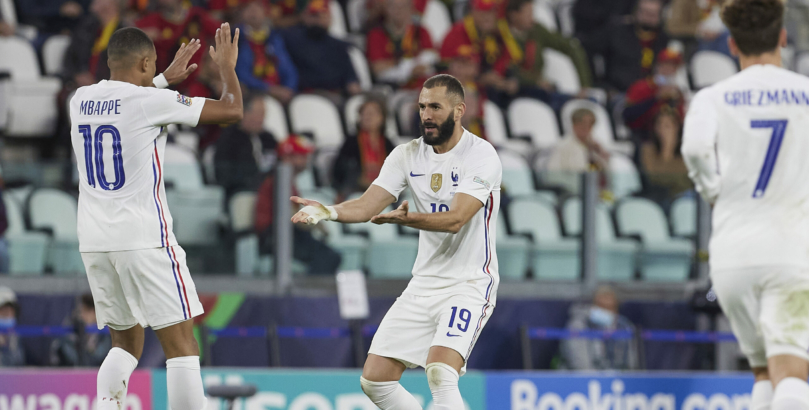 Ισπανία - Γαλλία: Με τον Μπενζεμά των ρεκόρ για την κούπα του Nations League!
