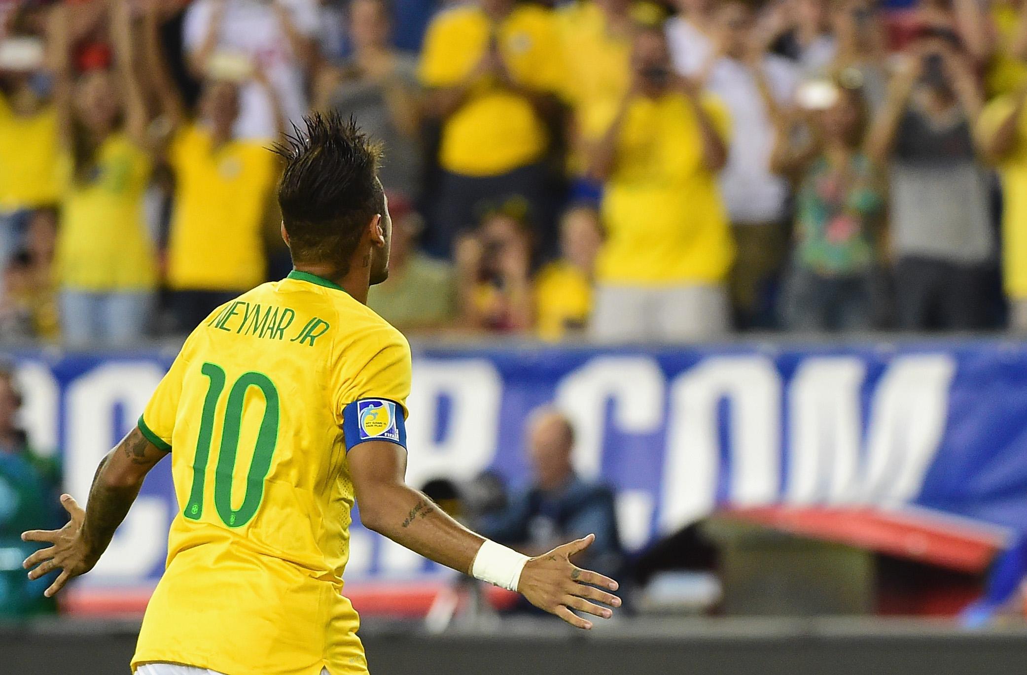 Il bomber più patriottico? E' Neymar. E Kane si mette dietro Messi e CR7