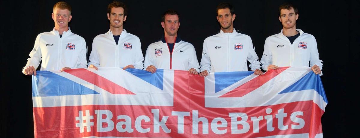 Andy Murray, il perno fondamentale della nazionale inglese di tennis