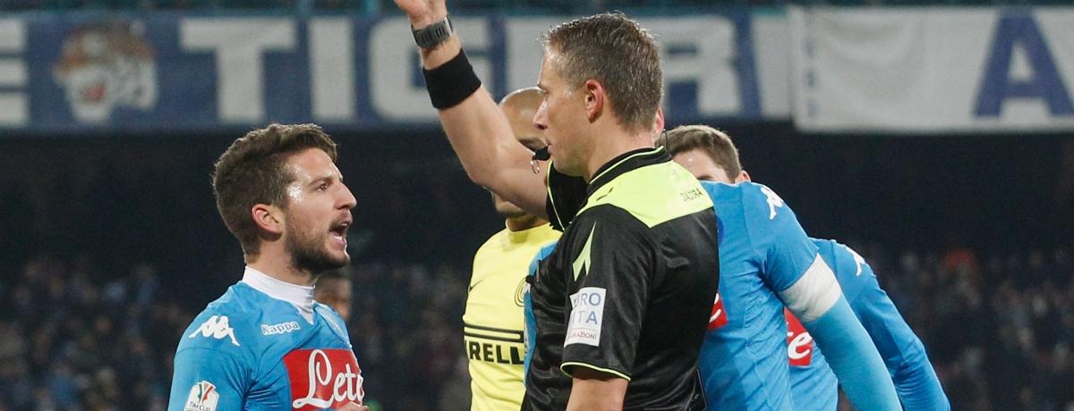 Coppa Italia: Napoli eliminato, furioso e sotto pressione