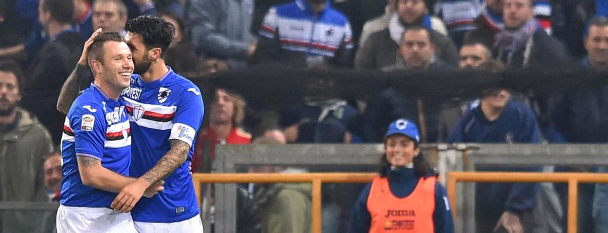 Sampdoria, se la precisione non basta... Ci pensa Cassano