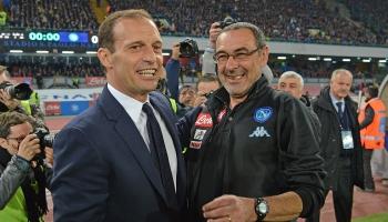 Juventus-Napoli, confronto a distanza