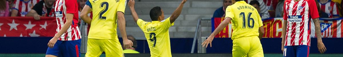 Villarreal-Atletico Madrid, Carlos Bacca cerca il bis contro i granitici Colchoneros