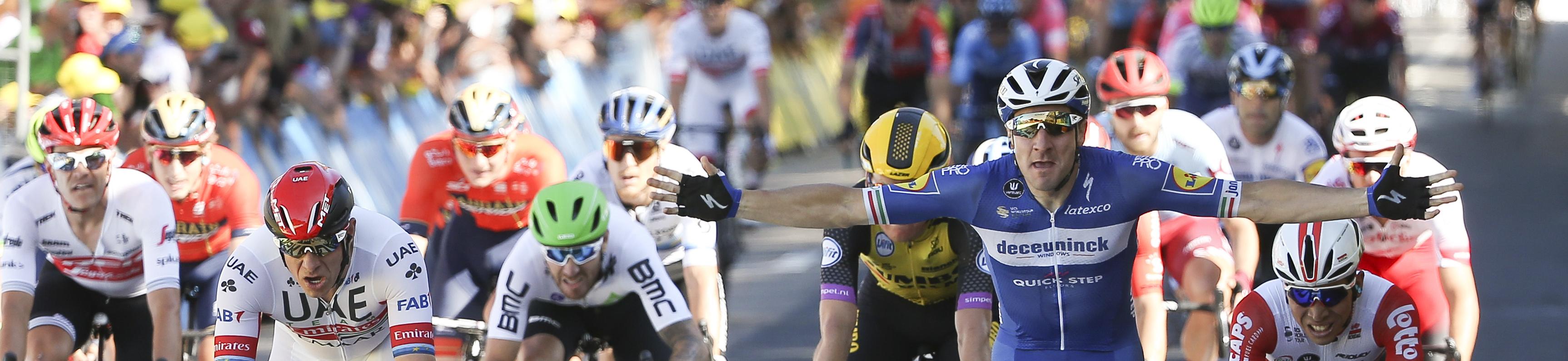 Tour de France 2019, tappa 7: Viviani si candida per il bis