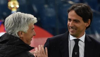 Lazio-Atalanta: Inzaghi contro Gasp, lo spettacolo è servito