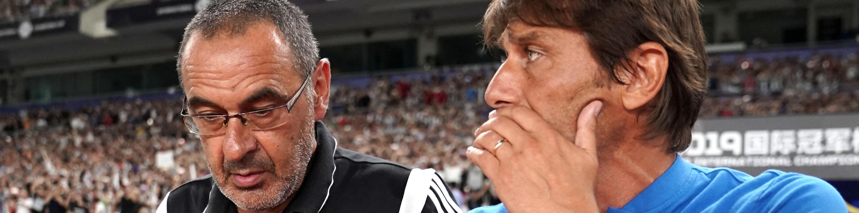 Conte vs Sarri tra incroci e staffette, ma nessun precedente: la nascita di una nuova super-rivalità
