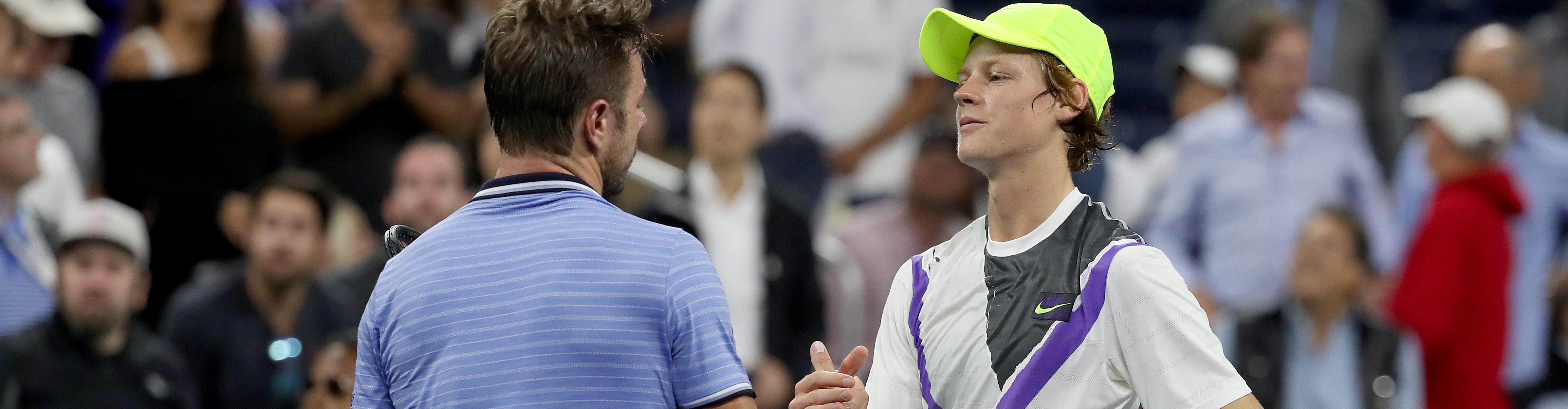 ATP Anversa, Sinner contro il gigante Wawrinka per vendicare lo US Open