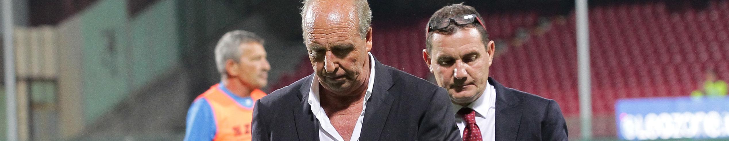 Salernitana-Trapani: Ventura intravede la Serie A, Castori vuole evitare la C