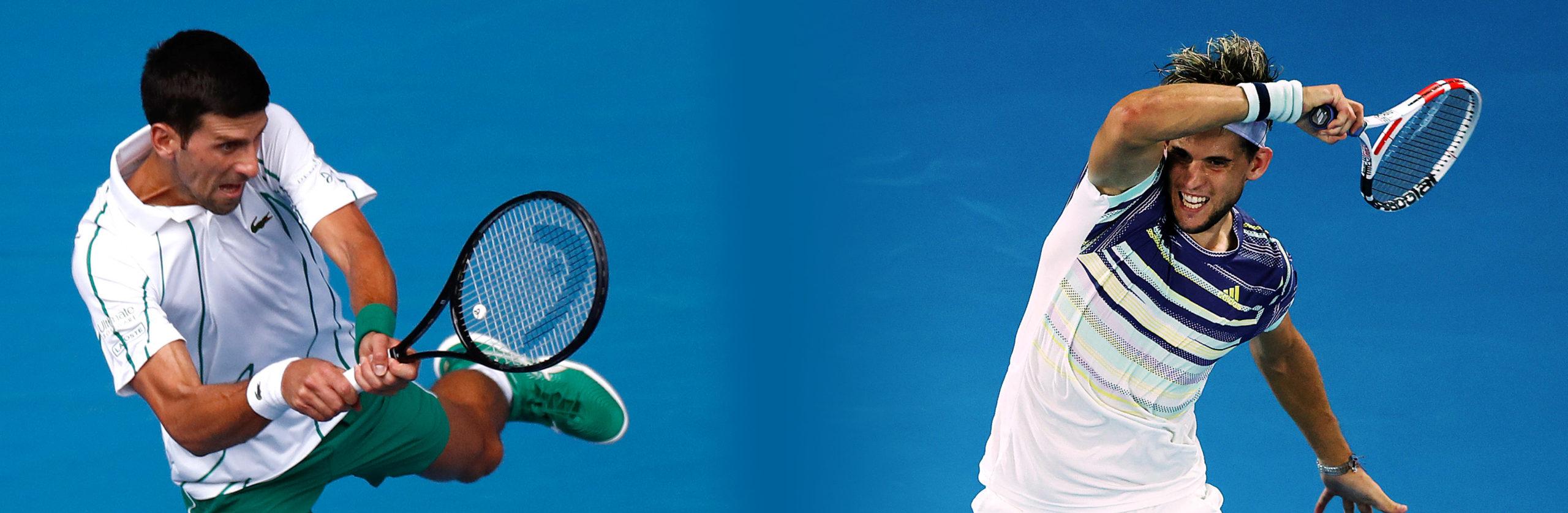 Australian Open, Djokovic-Thiem: pronostico e quote di una finale meno scontata di quanto si pensi