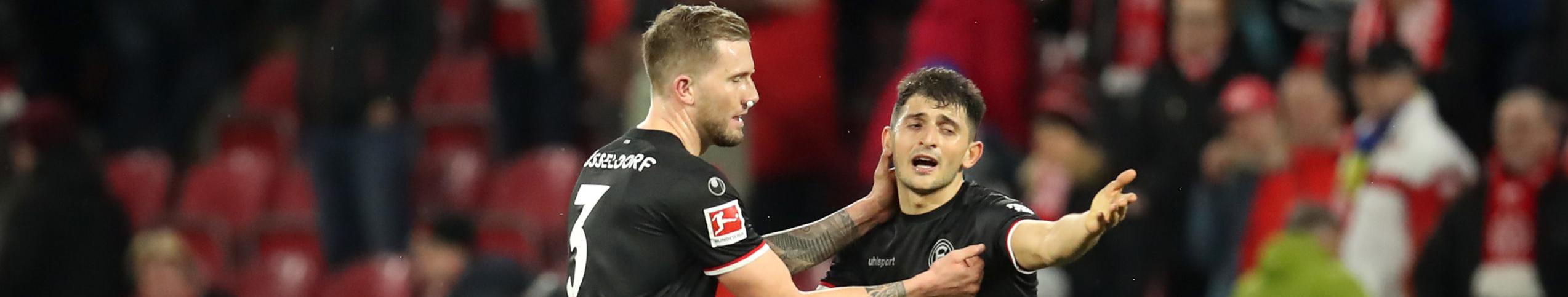 Quote Fortuna Dusseldorf-Paderborn: vincere per continuare a sperare nella salvezza