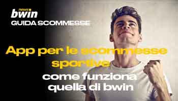 App scommesse sportive bwin