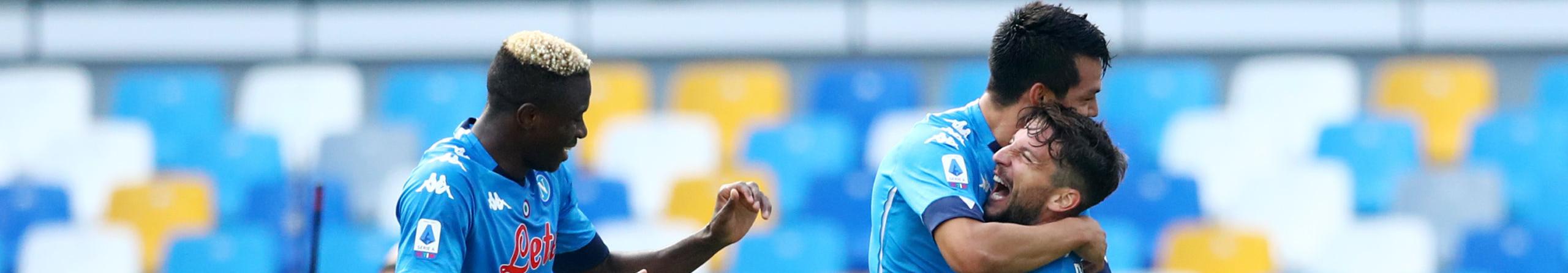 Napoli-Benevento, azzurri decisi a ripartire per centrare l'obiettivo 4° posto
