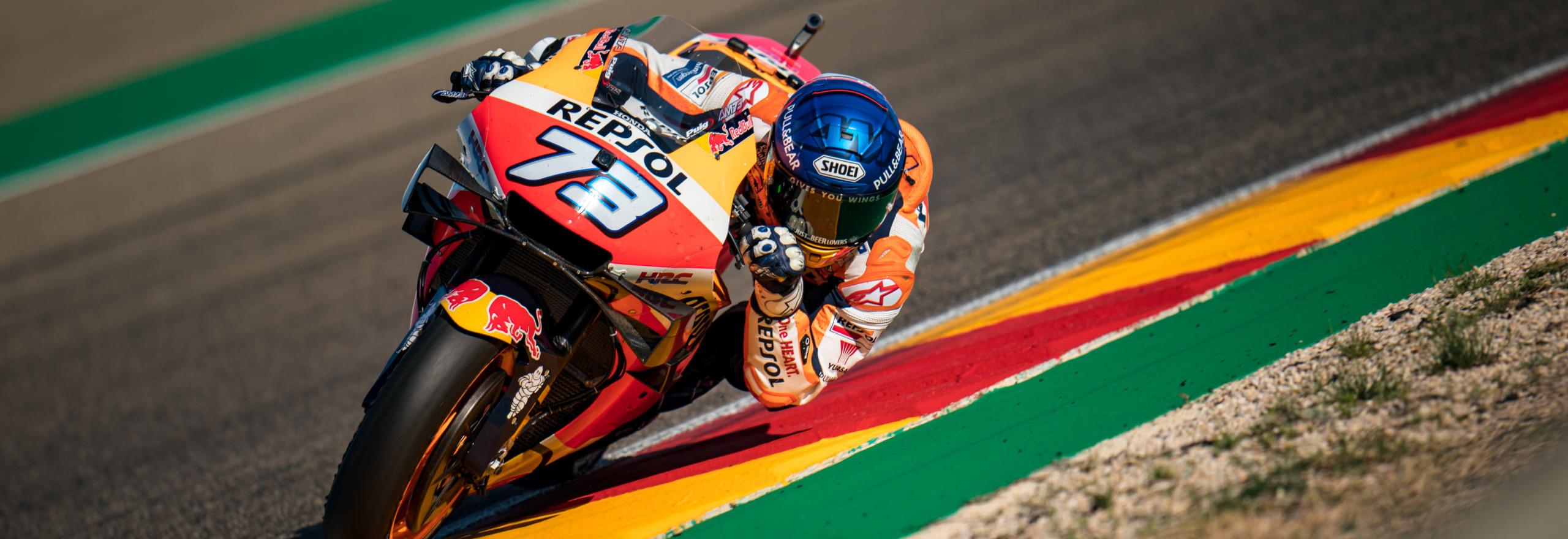 GP Teruel: Rins cerca il back to back, Nakagami l'uomo nuovo con Marquez jr
